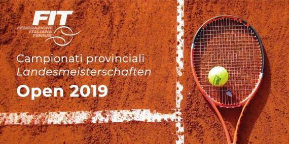 Campionati provinciali Open 2019