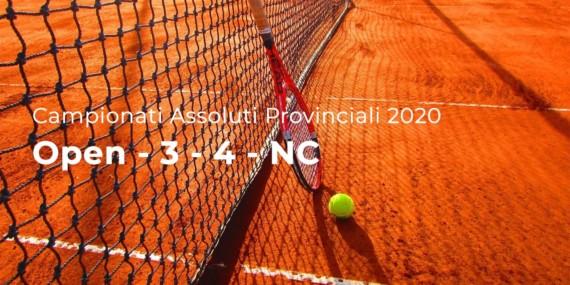 Campionati Assoluti Provinciali 2020