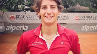 Alexander Weis, vincitore del Torneo Open di Bressanone