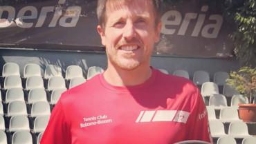 Stefan Knapp, vincitore del titolo provinciale categoria Open 2020