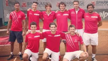 La squadra del TC Bolzano approda alle semifinali della Serie C