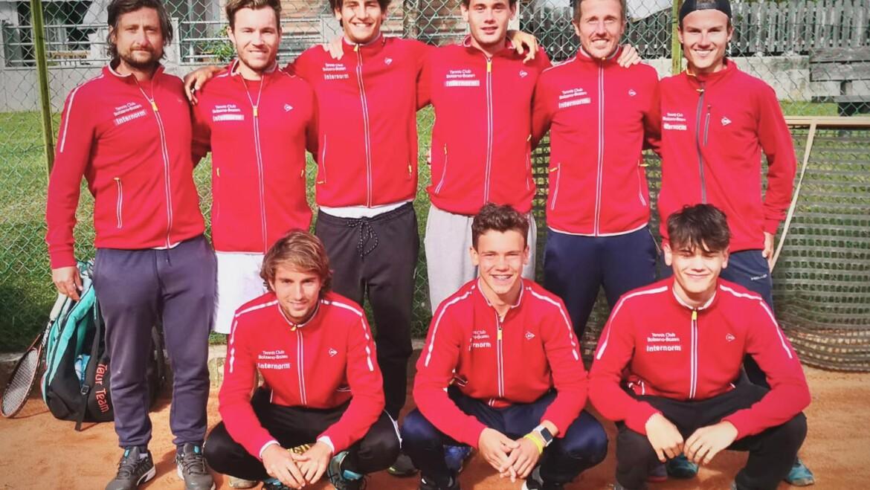 La squadra di serie C del TC Bolzano approda al tabellone nazionale di Serie C