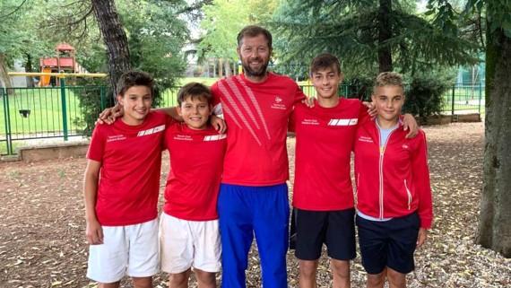 La squadra Under 14 del TC Bolzano approda alla fase finale del Campionato Nazionale U14